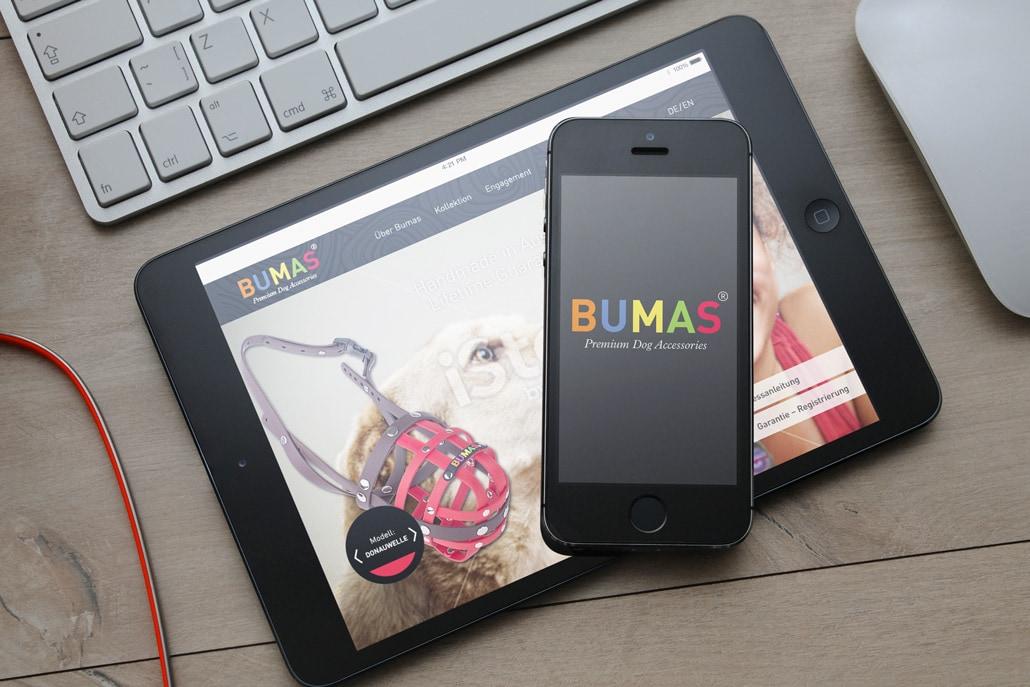 BUMAS Screen Design