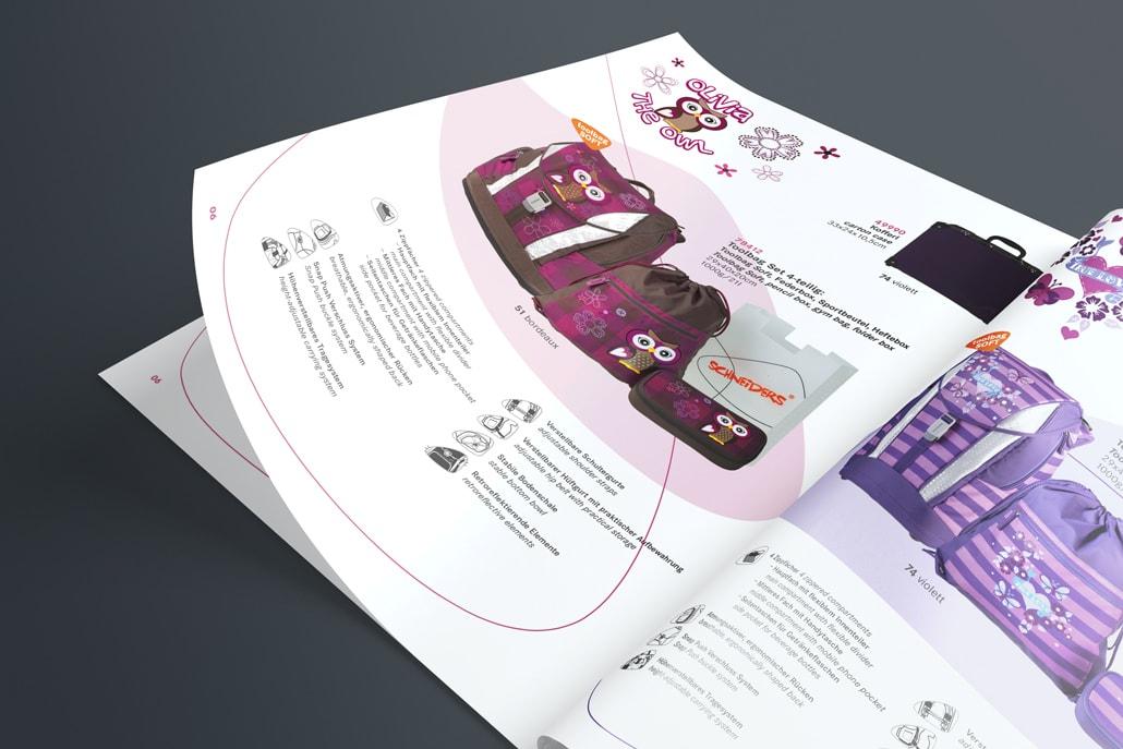 Schneiders Katalog Design