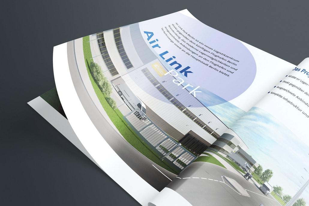 Air Link Park 3D Rendering