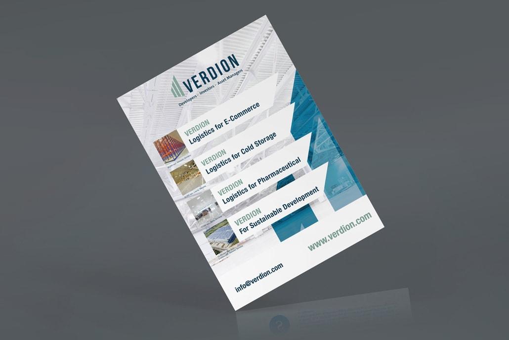 Flyer Design für Verdion